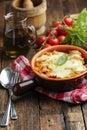 Lasagna bolognese Royalty Free Stock Photo