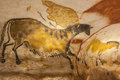 Lascaux cave paintings Royalty Free Stock Photo