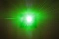 Laser Beam POV Royalty Free Stock Photo