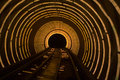 Laser tunnel Royalty Free Stock Photo