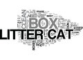 At Last Cat Litter Boxes Don T Have To Be Evil Word Cloud Royalty Free Stock Photo