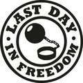 Last day in freedom bachelor party Royalty Free Stock Photo