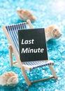 Last minute Royalty Free Stock Photo