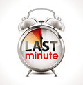 Last minute - Alarm Clock