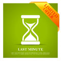 Last minute offer poster Royalty Free Stock Photo