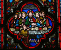 Last Supper Stock Photography