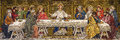 The Last Supper (mosaic) Royalty Free Stock Photo