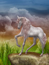 Last unicorn Stock Photo
