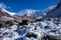 Latang national park nepal mountains in Stock Photography