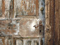 Latch old fashioned on stable door Royalty Free Stock Photos