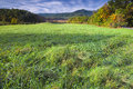 Late Afternoon in Cade's Cove, TN Royalty Free Stock Photo