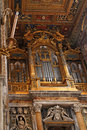 Lateran basilica organ in san giovanni in laterano Royalty Free Stock Photography