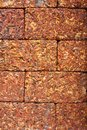 Laterite block in the garden Royalty Free Stock Image