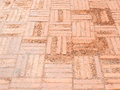Laterite tile floor with the crack texture. Royalty Free Stock Photo