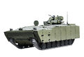 Latest Russian infantry fighting vehicle Royalty Free Stock Photo
