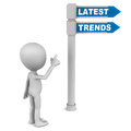 Latest trends Stock Photo