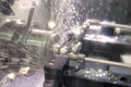 Lathe cnc milling photo of Royalty Free Stock Images