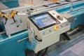 Lathe control panel Royalty Free Stock Photo