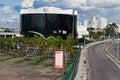 Latin America Memorial Sao Paulo Brazil Stock Image
