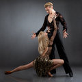 Latin dancers Royalty Free Stock Photos