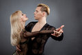 Latin dancers Royalty Free Stock Photo