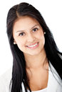 Latin woman smiling Stock Photos