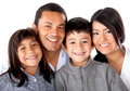 Latinamerican family Royalty Free Stock Photography