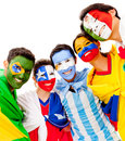 Latinamerican group Royalty Free Stock Images