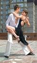 Latino dance Royalty Free Stock Photo
