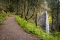 Latourell falls columbia river gorge oregon Stock Images