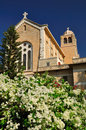 Latrun catholic trappists monastery in area israel Stock Photography