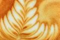 Latte art coffee Stockfotografie