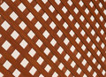 Lattice full frame take of a panel against white background Stock Photography