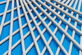 Lattice with sticks Stock Image