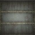 Lattice. Texture of metal
