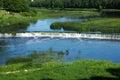 Latvia; Kuldiga. Falls on Vent's river. Royalty Free Stock Photo