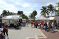Lauderdale sea florida october many people shopping outdoor annual craft festival where local artists display outside october Royalty Free Stock Photo