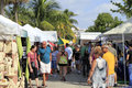 Lauderdale sea florida october people looking th annual craft festival where local artists display outdoor galleries october Royalty Free Stock Images