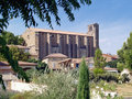 Laudun - Roman village in the south of France Stock Photo