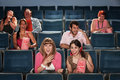 Laughing Audience In Theater Royalty Free Stock Photo