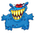 Laughing monster Royalty Free Stock Photo