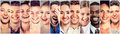 Laughing people. Group happy men, women, children Royalty Free Stock Photo