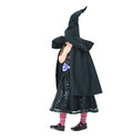 Laughing witch hiding behind isolated Stock Photo