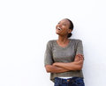 Laughing Young African Woman A...