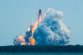 Launch of Endeavour STS134 Royalty Free Stock Photo