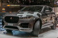 Launch of the F-Pace at the Jaguar stand at the Geneva International Motor Show