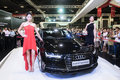 Launch of new Audi A7 Sportback at the Singapore Motorshow 2015 Royalty Free Stock Photo