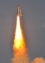 LAUNCH of the SPACE SHUTTLE DISCOVERY -LAST FLIGHT Royalty Free Stock Photo