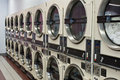 Laundromat Dryers Royalty Free Stock Image