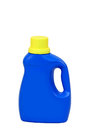 Laundry detergent bottle a isolated Royalty Free Stock Photos
